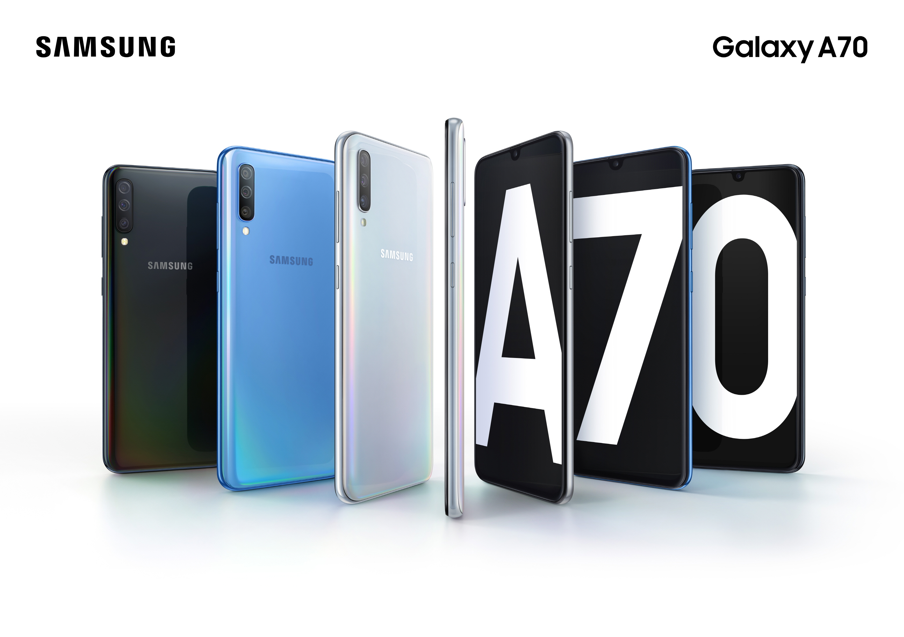Samsung Electronics  unveiled the Galaxy A70, the newest smartphone in the popular Galaxy A range